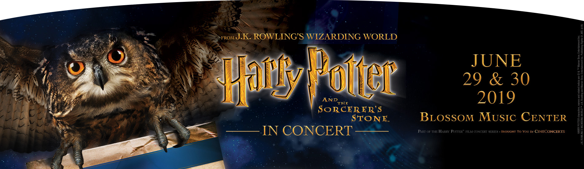 The Cleveland Orchestra: Justin Freer - Harry Potter and The Sorcerer's Stone - Film With Live Orchestra at Blossom Music Center