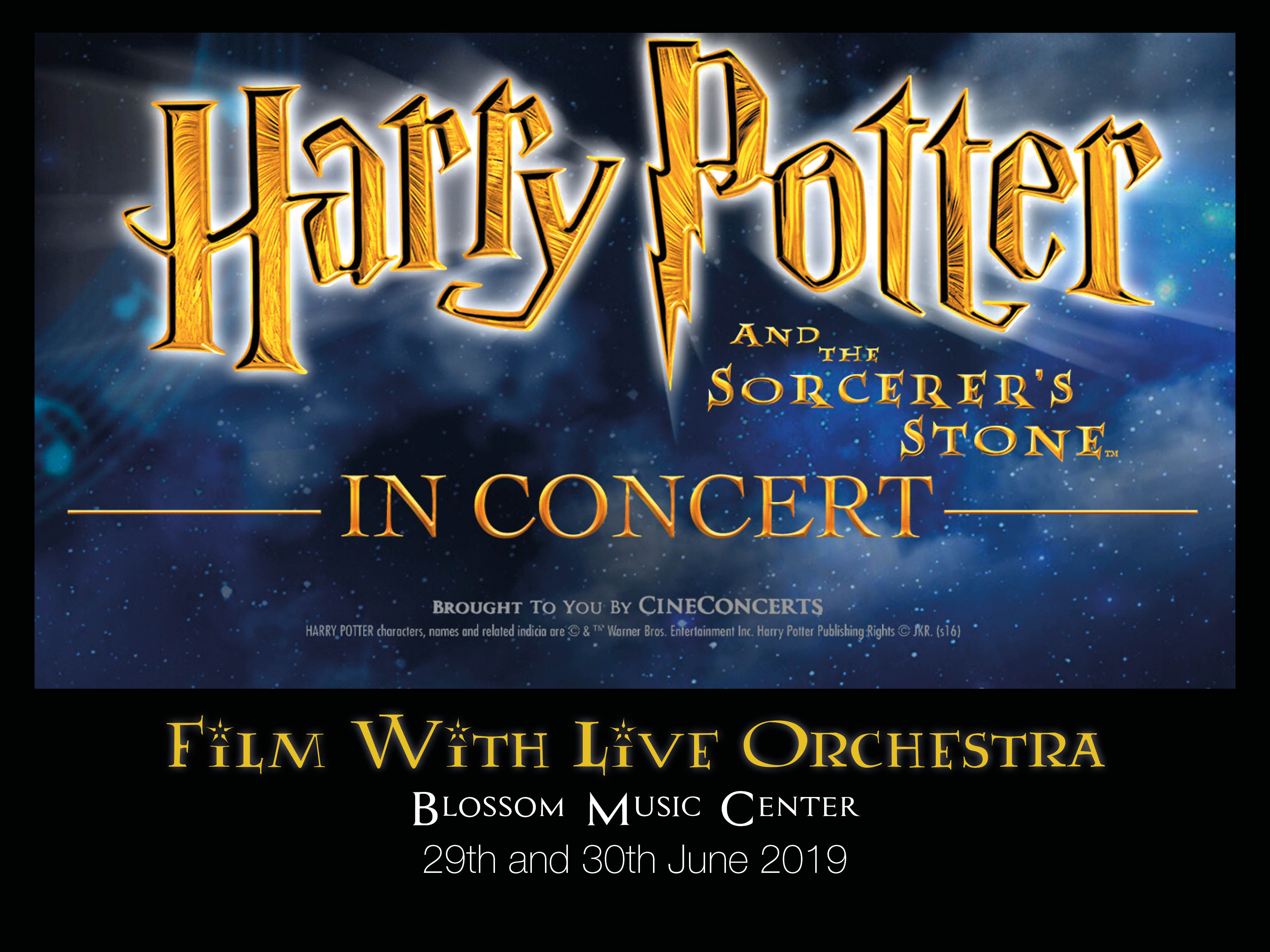 The Cleveland Orchestra Justin Freer Harry Potter And The Sorcerer S Stone Film With Live