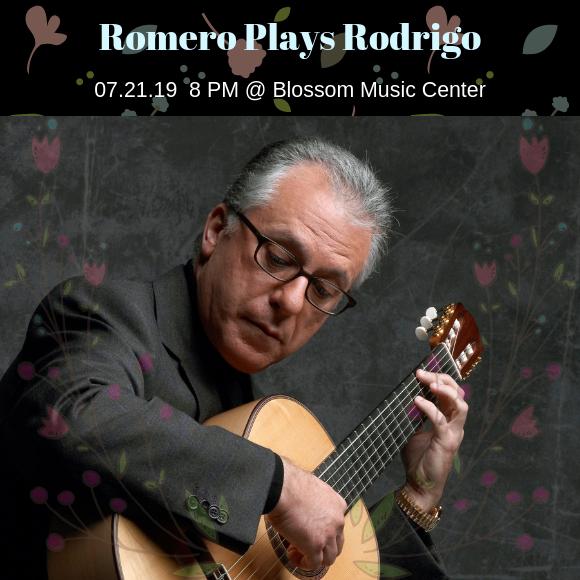 The Cleveland Orchestra: Pablo Heras-Casado - Romero Plays Rodrigo at Blossom Music Center