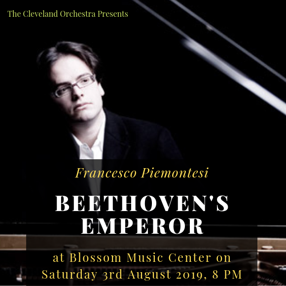 The Cleveland Orchestra: Andrey Boreyko - Beethoven's Emperor at Blossom Music Center
