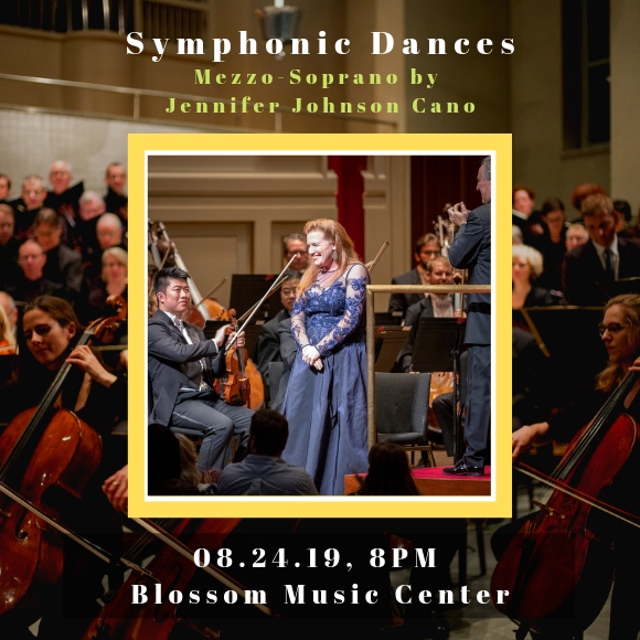 The Cleveland Orchestra: Vinay Parameswaran - Symphonic Dances at Blossom Music Center