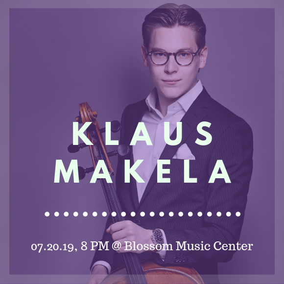 The Cleveland Orchestra: Klaus Makela - Bruch's Violin Concerto at Blossom Music Center
