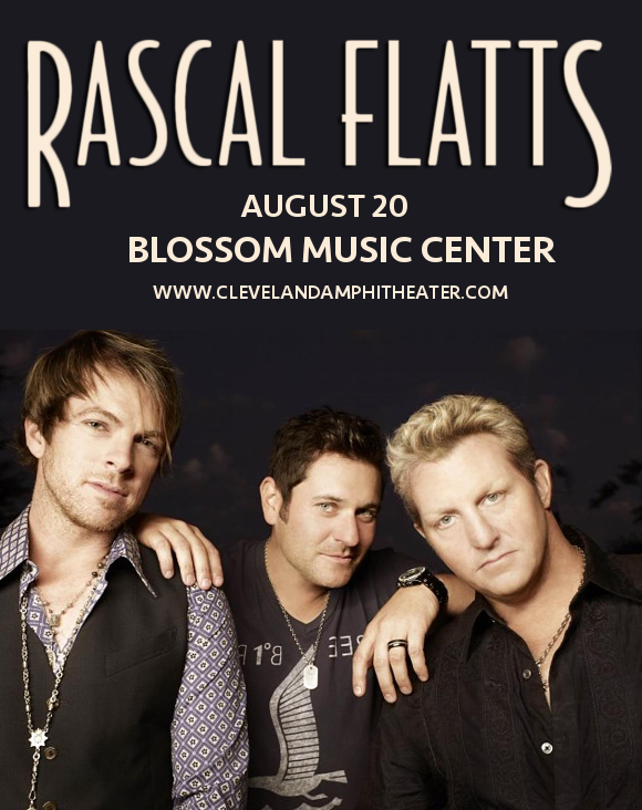 Rascal Flatts at Blossom Music Center