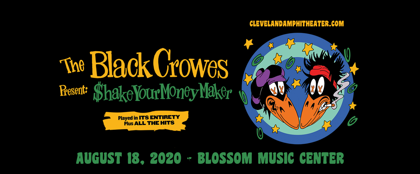 The Black Crowes at Blossom Music Center