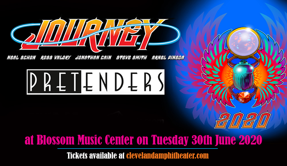 Journey & The Pretenders at Blossom Music Center