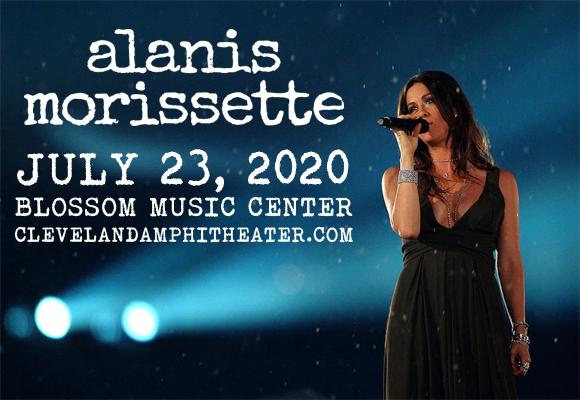 Alanis Morissette at Blossom Music Center