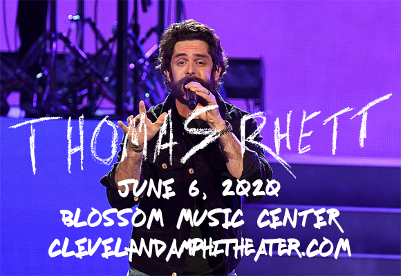 Thomas Rhett & Cole Swindell at Blossom Music Center