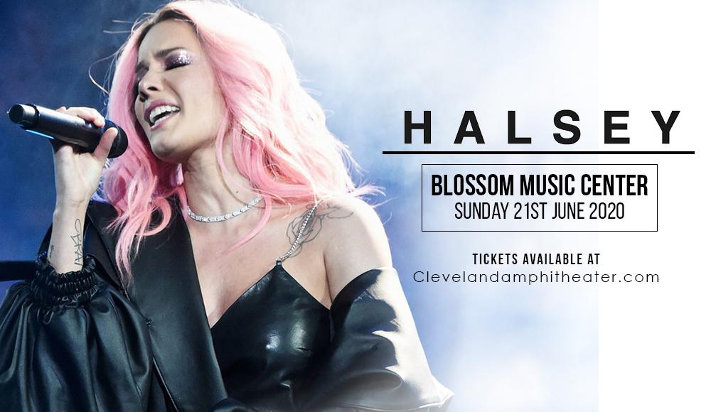 Halsey at Blossom Music Center