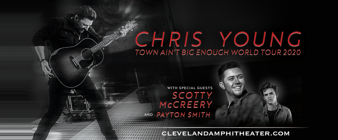 Chris Young, Scotty McCreery & Payton Smith at Blossom Music Center