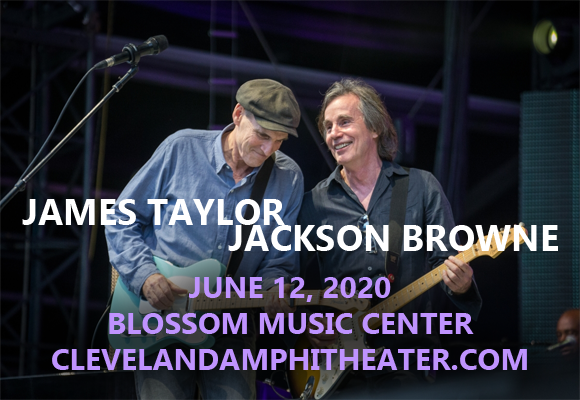 James Taylor & Jackson Browne at Blossom Music Center