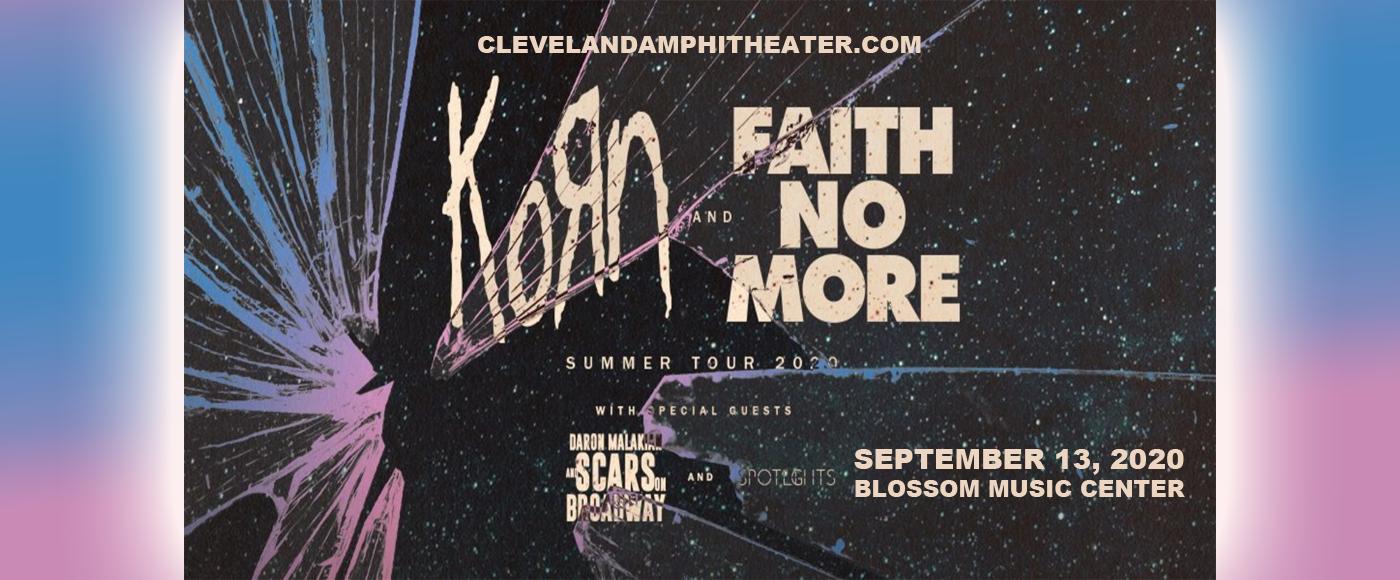 Korn, Faith No More, Helmet & '68 at Blossom Music Center