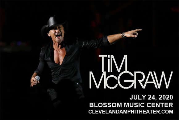 Tim McGraw at Blossom Music Center
