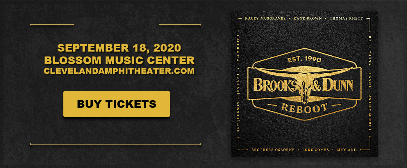 Brooks and Dunn [POSTPONED] at Blossom Music Center