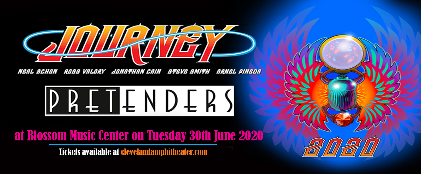 Journey & The Pretenders [CANCELLED] at Blossom Music Center