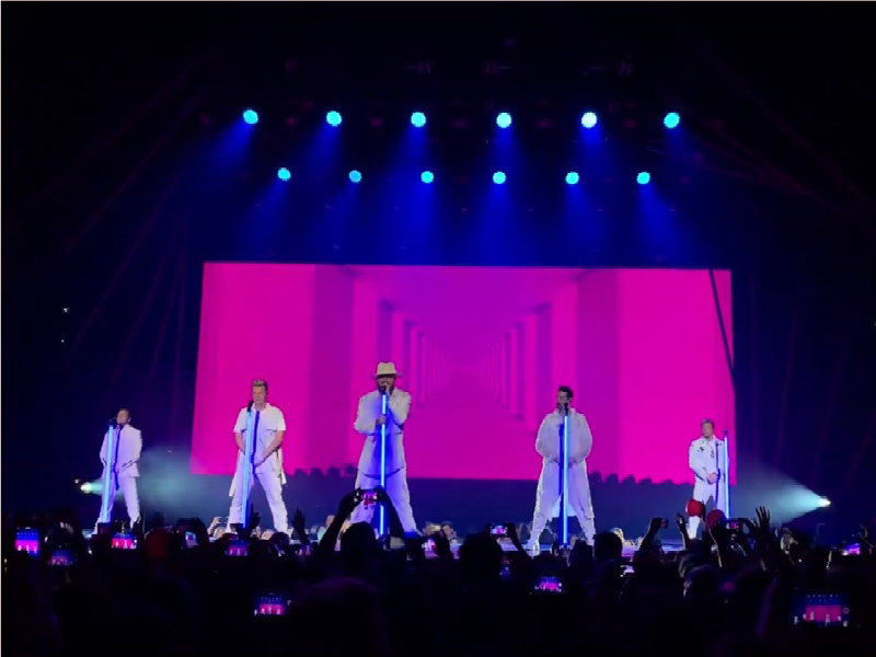 Backstreet Boys [POSTPONED] at Blossom Music Center