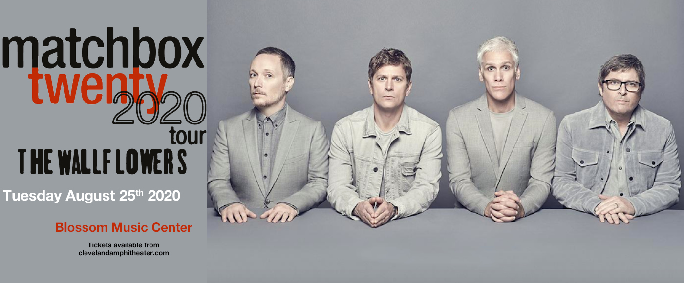 Matchbox Twenty & The Wallflowers [POSTPONED] at Blossom Music Center