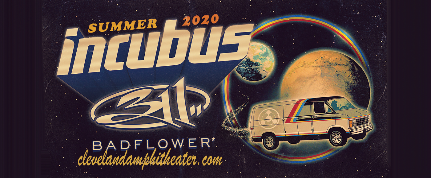 Incubus, 311 & Badflower [CANCELLED] at Blossom Music Center