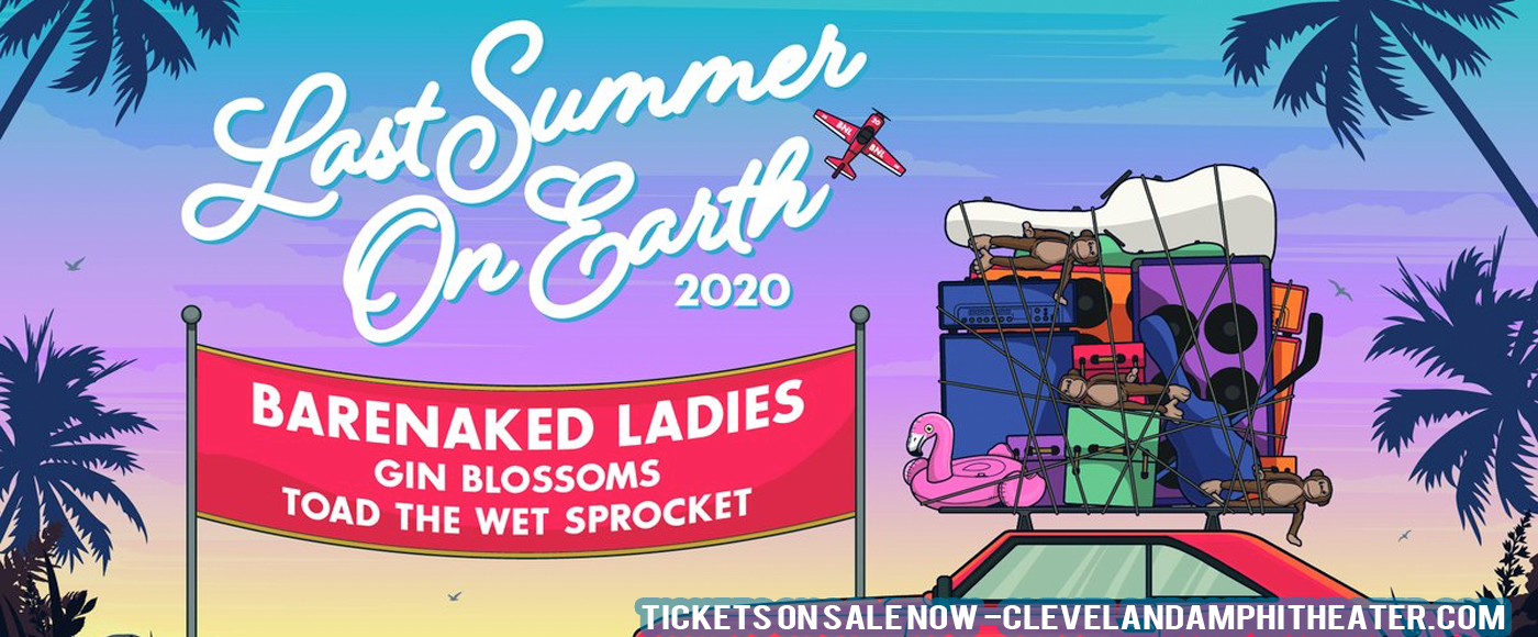 Barenaked Ladies, Gin Blossoms & Toad The Wet Sprocket [CANCELLED] at Blossom Music Center