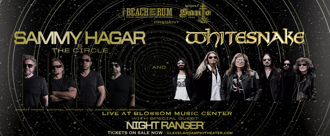 Sammy Hagar and the Circle & Whitesnake [CANCELLED] at Blossom Music Center