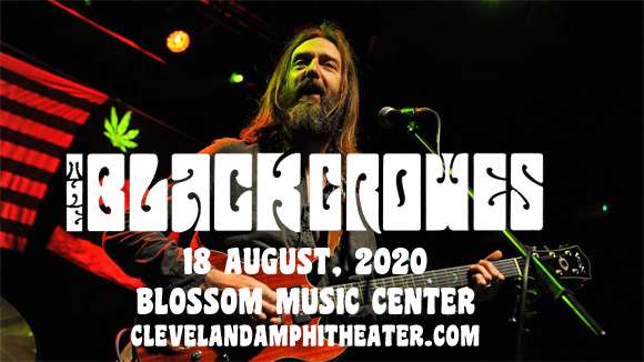 The Black Crowes [POSTPONED] at Blossom Music Center