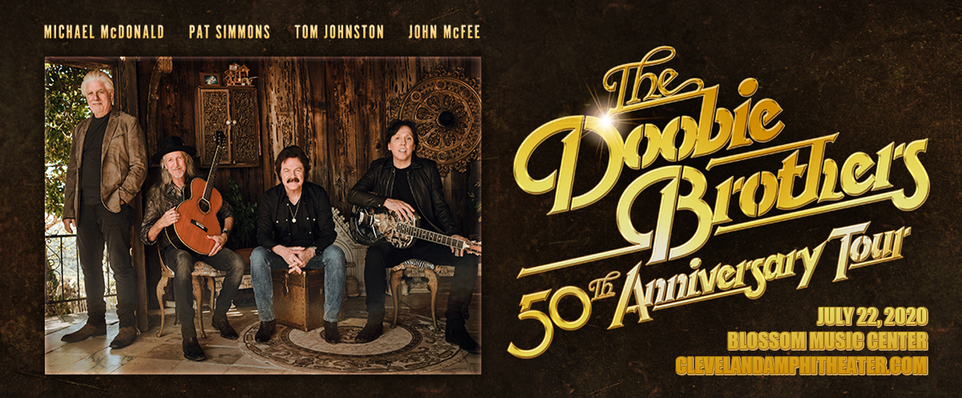 The Doobie Brothers & Michael McDonald at Blossom Music Center