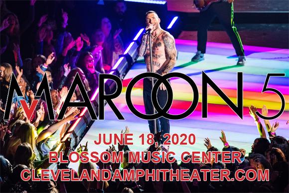 Maroon 5 & Meghan Trainor [POSTPONED] at Blossom Music Center