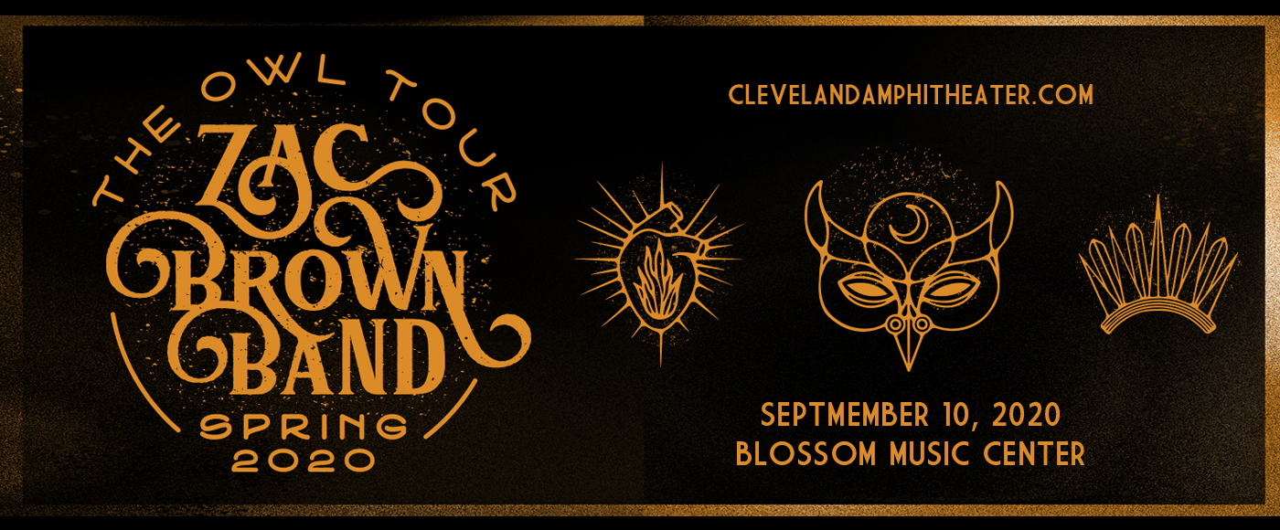 Zac Brown Band [CANCELLED] at Blossom Music Center