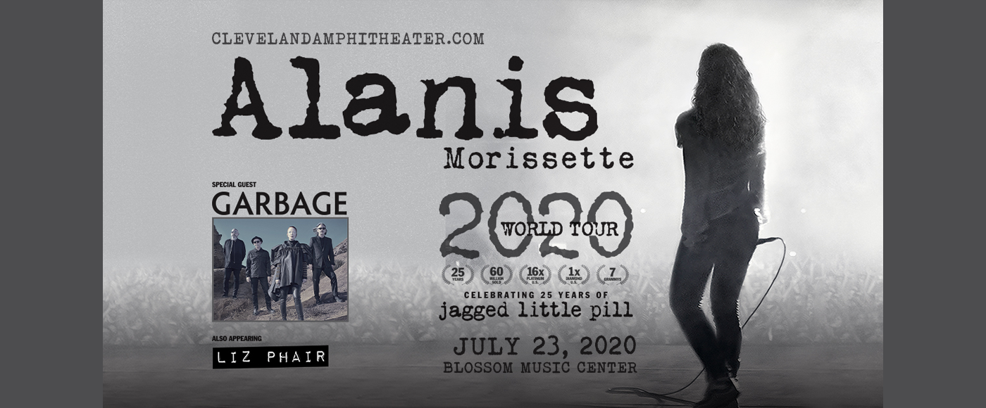 Alanis Morissette at Blossom Music Center