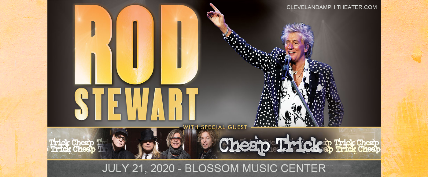 Rod Stewart & Cheap Trick at Blossom Music Center