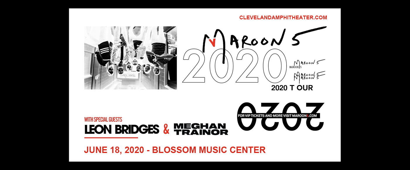 Maroon 5 & Meghan Trainor at Blossom Music Center
