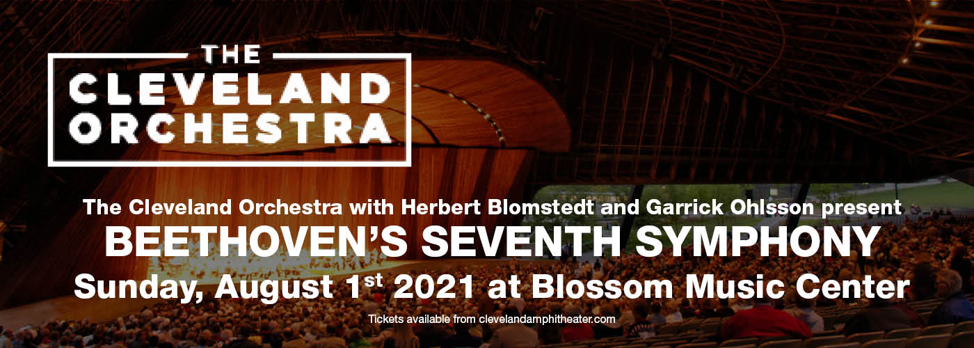 The Cleveland Orchestra: Herbert Blomstedt - Beethoven's Seventh Symphony at Blossom Music Center