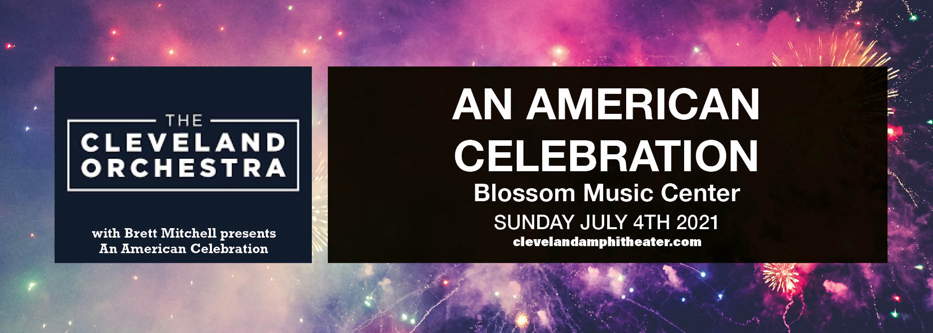 The Cleveland Orchestra: Brett Mitchell - An American Celebration at Blossom Music Center