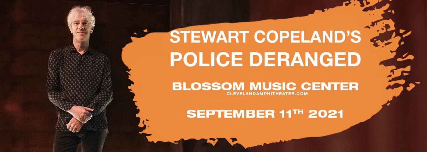 Stewart Copeland's Police Deranged For Orchestra at Blossom Music Center