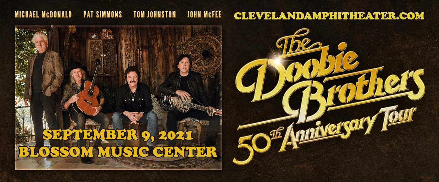 The Doobie Brothers & Michael McDonald [POSTPONED] at Blossom Music Center