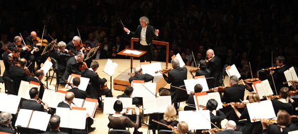 blossom music center orchestra