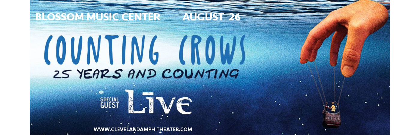 Counting Crows & Live - Band at Blossom Music Center