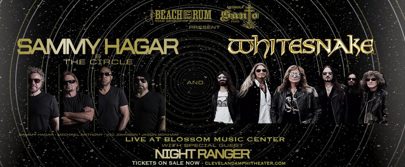 Sammy Hagar and the Circle & Whitesnake [CANCELLED] at Blossom Music Center