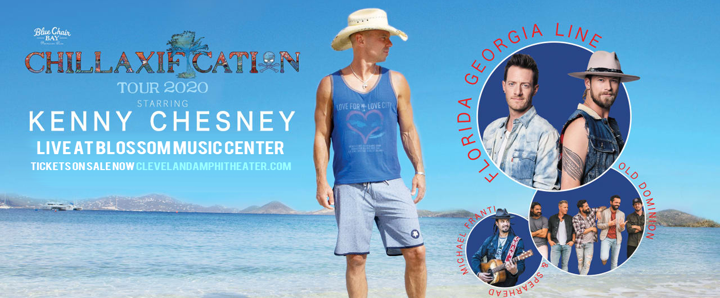 Kenny Chesney [CANCELLED] at Blossom Music Center