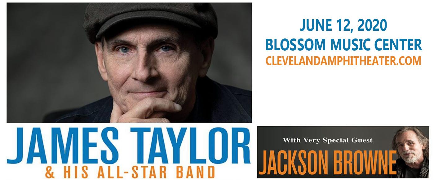 James Taylor & Jackson Browne at Blossom Music Center