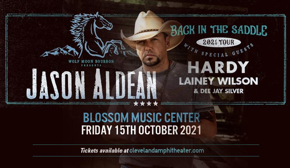 Jason Aldean, Hardy & Lainey Wilson at Blossom Music Center