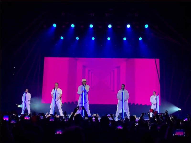 Backstreet Boys at Blossom Music Center