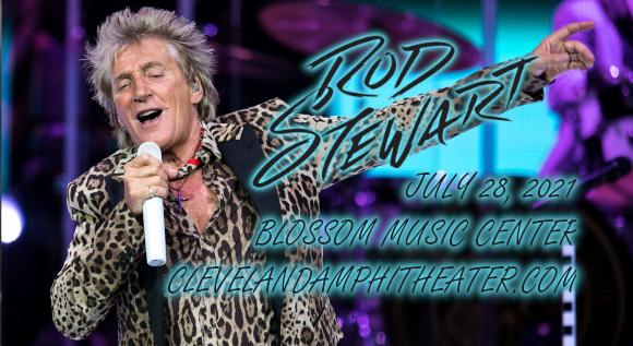 Rod Stewart & Cheap Trick at Blossom Music Center