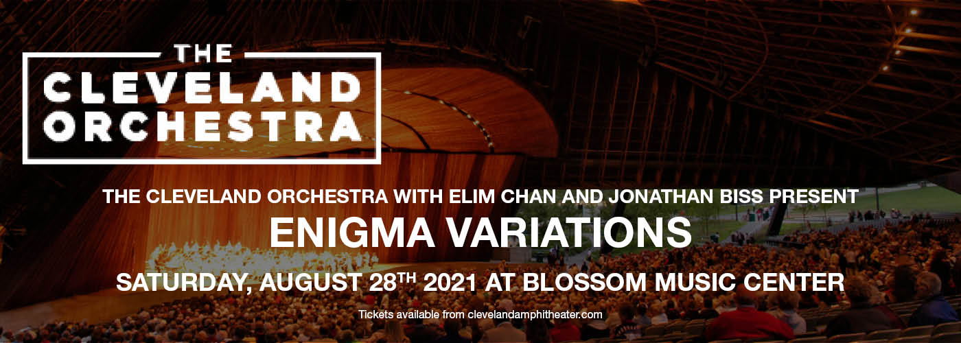 The Cleveland Orchestra: Elim Chan - Enigma Variations at Blossom Music Center