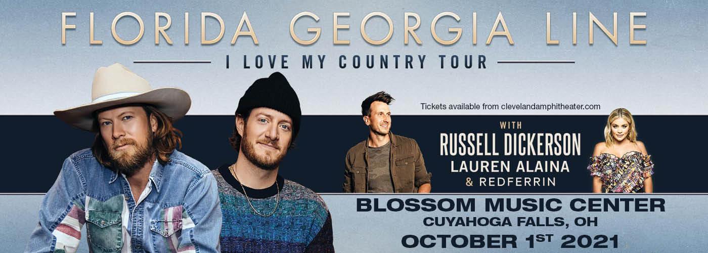 Florida Georgia Line: I Love My Country Tour at Blossom Music Center
